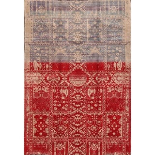 "Shiraz Hand Knotted Wool Oriental Persian Area Rug For Livingroom - 7'0"" x 4'10"""