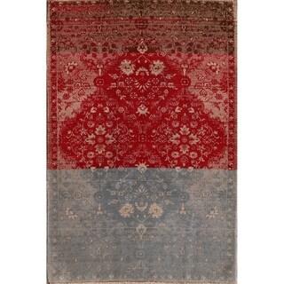 "Oriental Hand Made Wool Oriental Shiraz Persian Traditional Area Rug - 7'1"" x 4'11"""