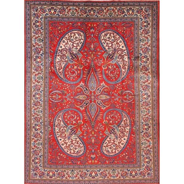 5 X 6 Vintage Kazak Persian Oriental Wool Hand Knotted: Shop Sarouk Hand Knotted Wool Persian Vintage Floral