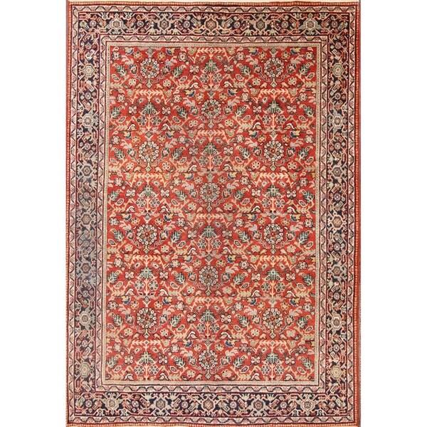 Shop Mahal Sarouk Persian Hand Made Genuine Wool Floral