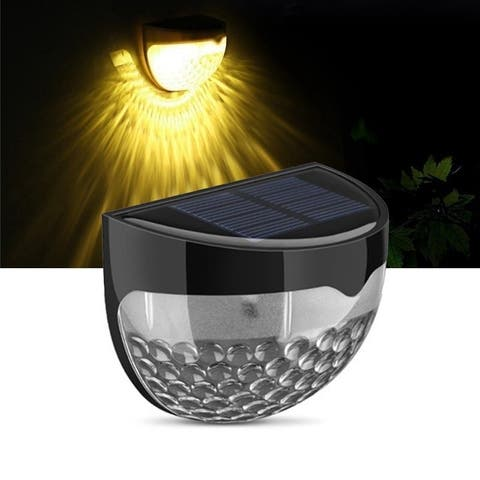 1 Pack Solar LED Outdoor Lighting Waterproof Garden Light Sensor Light with Auto on at Dusk/ Off at Dawn