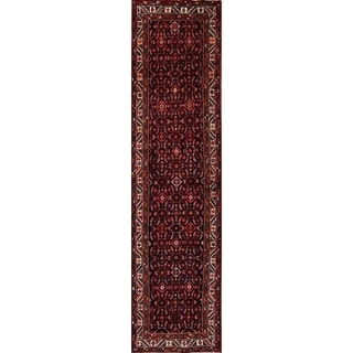 """The Curated Nomad Woolfson Hand-knotted Persian Wool Heirloom Item Area Rug - 13'3"""" x 3'5"""" runner"""