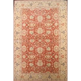"Oushak Traditional Agra Egypt Oriental Hand Made Wool Area Rug Orange - 18'9"" x 12'5"""