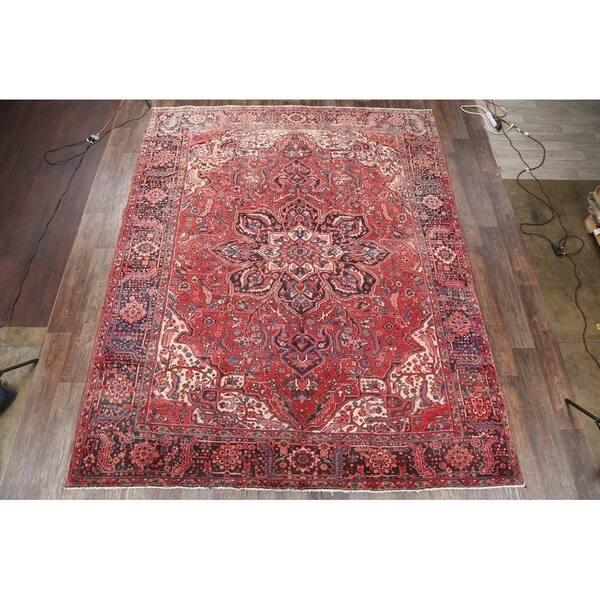 Antique Heriz Handmade Wool