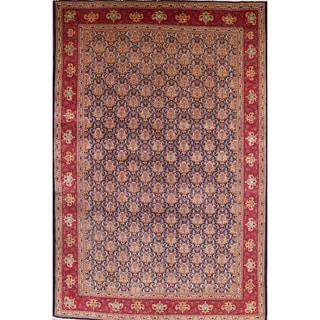 "Traditional Tabriz Vintage Persian Handmade Oriental Area Rug Wool - 16'8"" x 11'2"""