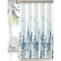 Japanese Style Flowers Shower Curtain