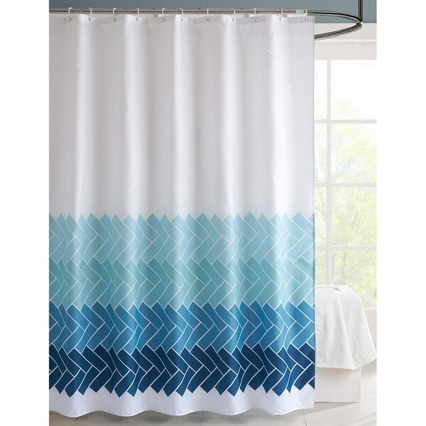 Shop Fabric Shower Curtain Gradient Edges