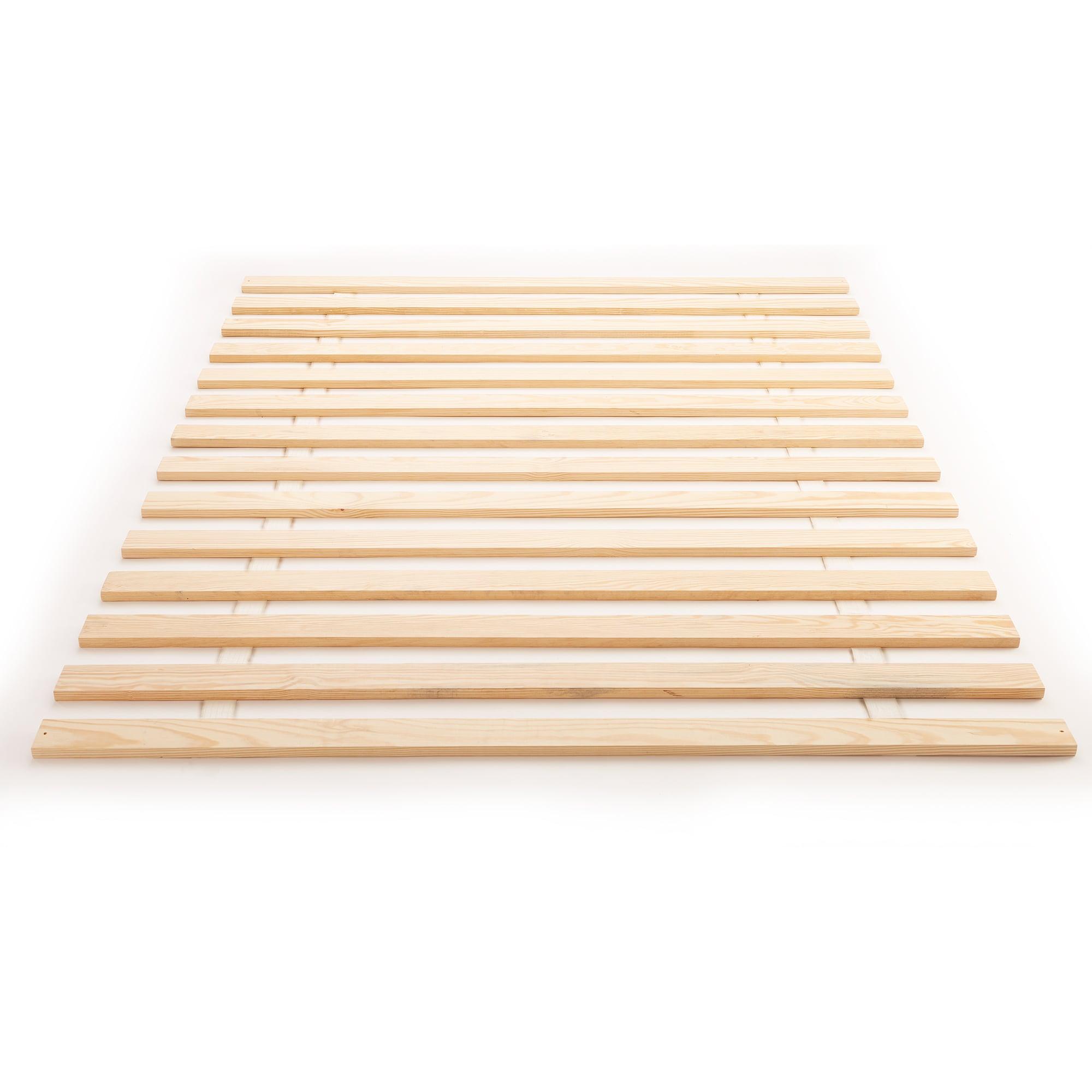 Diy Bathroom Shelf Ideas, Shop Black Friday Deals On Classic Brands Super Heavy Duty Wide Wood Bed Slats On Sale Overstock 24322917
