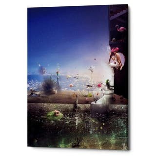 Mario Sanchez Nevado 'Hidden Place' Giclee Canvas Wall Art