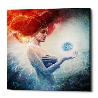 Mario Sanchez Nevado 'Living Frequencies' Giclee Canvas Wall Art