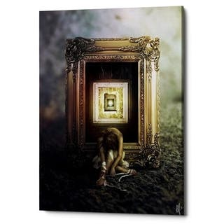 "Cortesi Home ""Shrink"" by Mario Sanchez Nevado, Giclee Canvas Wall Art, 18""x26"""