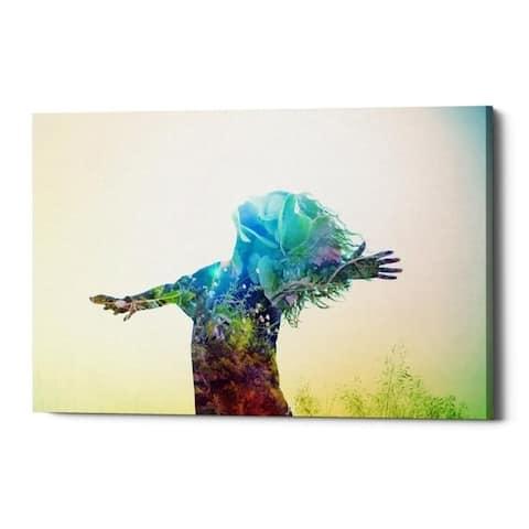 "Cortesi Home ""Release"" by Mario Sanchez Nevado, Giclee Canvas Wall Art, 18""x26"""