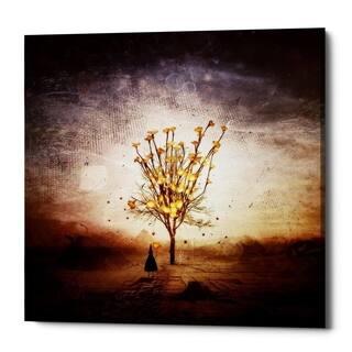"Cortesi Home ""Finding"" by Mario Sanchez Nevado, Giclee Canvas Wall Art, 37""x37"""