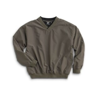 White Bear Microfiber Men's Golf Wind Shirt Size Medium