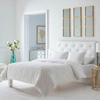 Trina Turk Freya White Duvet Cover Set