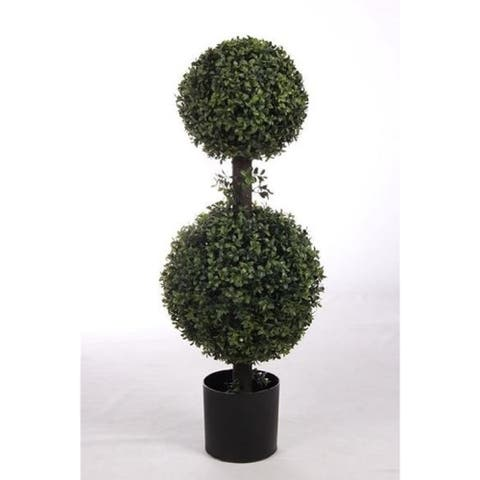 Allstate Floral 6' Artificial Cedar Potted Topiary
