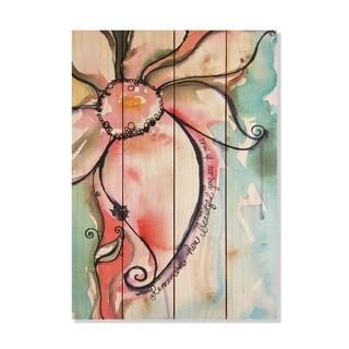 Remember - 14x20 - Inside/Outside WoodWall Art - Multi-color