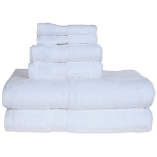 Revere Mills White Super Soft Six Piece Towel Set