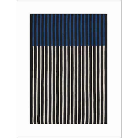 Calvin Klein Nashville Bold Striped Area Rug by Nourison