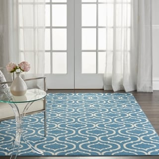 Link to Nourison Jubilant Trellis Area Rug Similar Items in Rugs