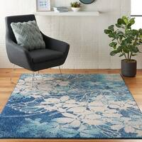 Nourison Tranquil Abstract Floral Area Rug