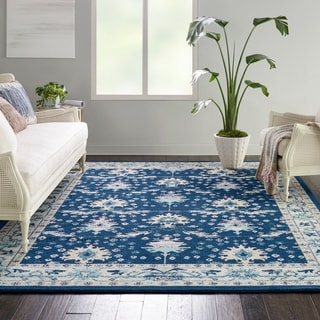 Nourison Tranquil Traditional Abstract Area Rug