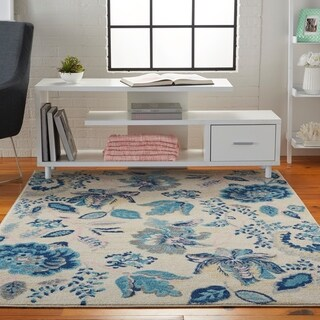 Link to Nourison Tranquil French Country Area Rug Similar Items in Shabby Chic Rugs