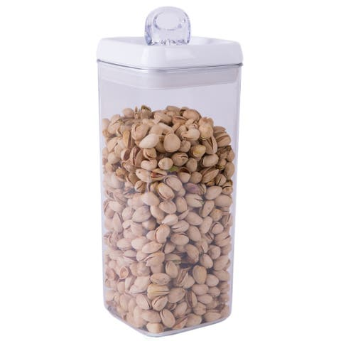 Food Vacuum BPA Free Plastic Container with Lockable Lid