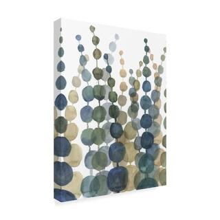 Megan Meagher 'Pompom Botanical Ii' Canvas Art