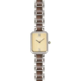 Dakota Ladies Genuine Hardwood Watch with Adjustable Band