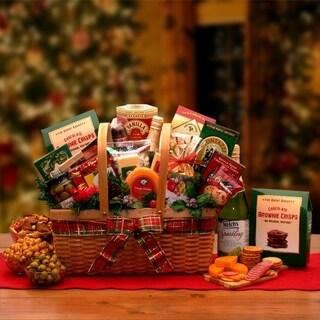 Holiday Greetings Gourmet Gift Hamper - N/A