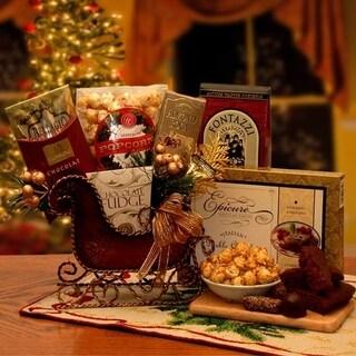 Seasons Greeting Holiday Sleigh - N/A