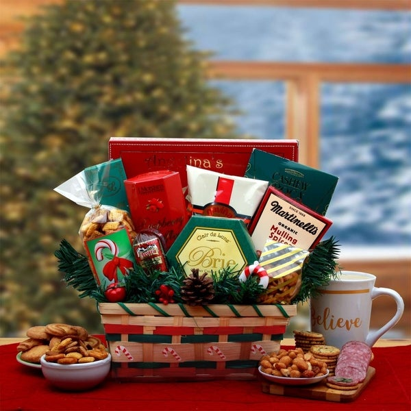 Shop A Taste of the Holidays Gift Basket - Free Shipping Today - Overstock - 24333227 & Shop A Taste of the Holidays Gift Basket - Free Shipping Today ...