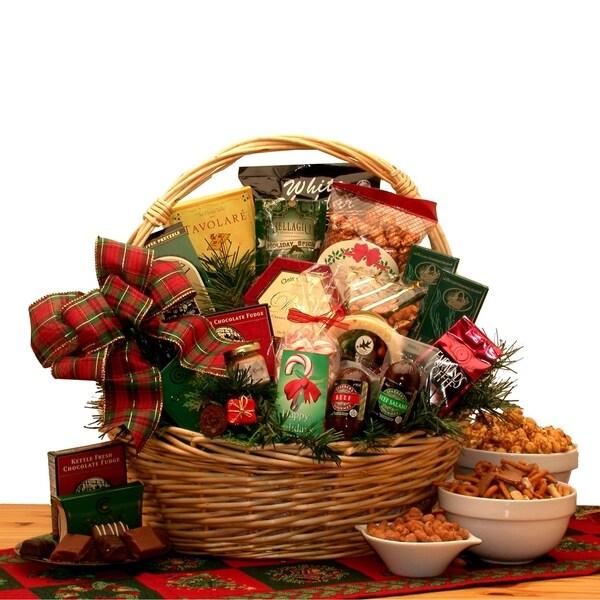 Holiday Celebrations Holiday Gift Basket