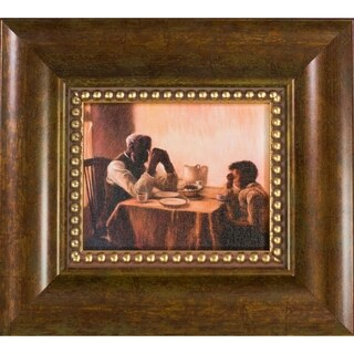 Henry Ossawa Tanner 'The Thankful Poor' Pre-Framed Miniature