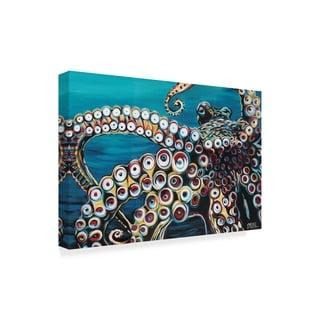Carolee Vitaletti 'Wild Octopus I' Canvas Art