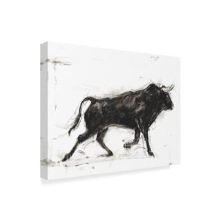 Ethan Harper 'Toro Ii' Canvas Art