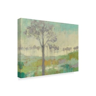 Jennifer Goldberger 'Tree Stand Ii' Canvas Art