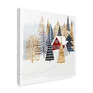 Link to Victoria Borges 'Christmas Chalet I' Canvas Art Similar Items in Christmas Decorations