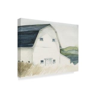 Jennifer Paxton Parker 'Watercolor Barn Iv' Canvas Art