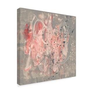 Jennifer Goldberger 'Blush Kinesis Ii' Canvas Art