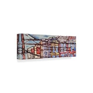 Erin Mcgee Ferrell 'Urban Wires I' Canvas Art