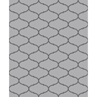 Ribbon Light Grey/ Anthracite Indoor/ Outdoor Flatweave Contemporary Patio, Pool, Camp, and Picnic Rug - 7'10' x 9'10'