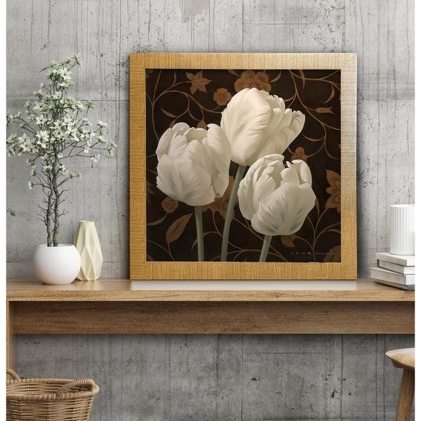 Flower Dance II -Framed Giclee Print