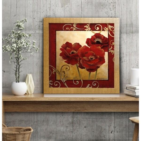 Persian Garden II -Framed Giclee Print