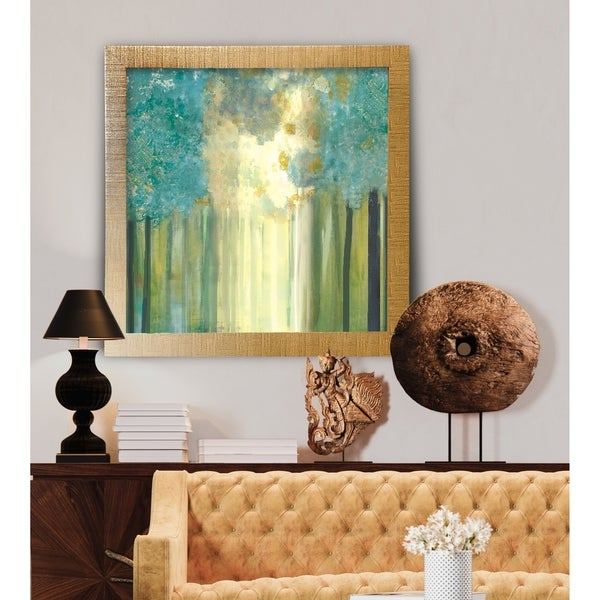 Lonely Tree In Sun -Framed Giclee Print