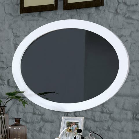 Furniture of America Fopp Mid-century 40-inch Wall-Mounted Mirror
