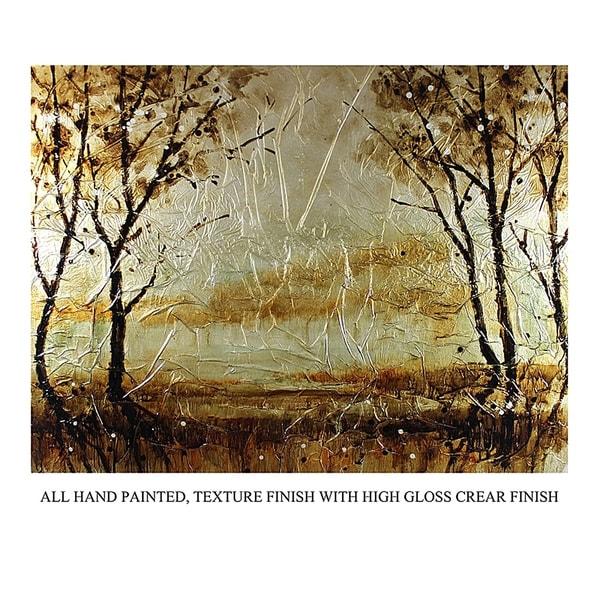Essential Decor & Beyond Oil Painting on Canvas EN41000 - Brown