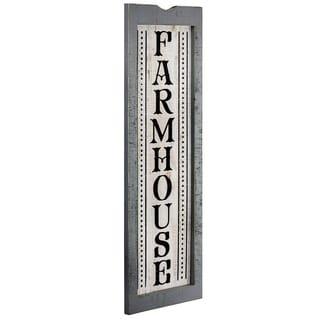 American Art Decor Farmhouse Wood Sign Wall Decor
