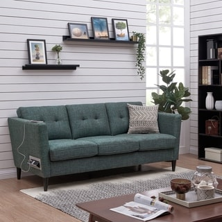Link to Carson Carrington Vestfold Modern Fabric Sofa Similar Items in Sofas & Couches